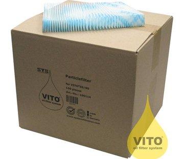 Vito Vervangingsfilters Vetfilters Vito filtersysteem 50 stuks