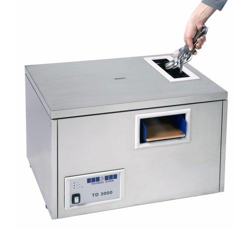 Thomas Dörr Bestekpoleermachine en bestekdroogmachine Pro TD-3000