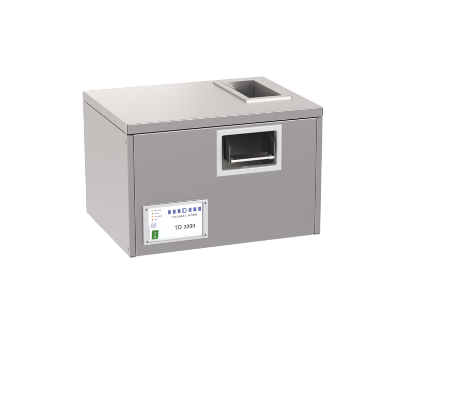Bestekpoleermachine en bestekdroogmachine Pro TD-3000