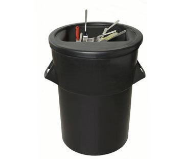 Waste bin 94 ltr. for cutlery magnet