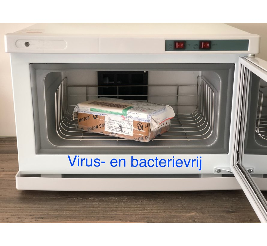 Carbinet de stérilisation UVC - tue les virus et les bactéries
