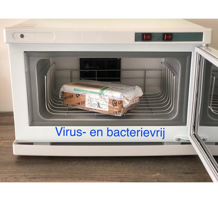 Sterilizer carbinet UVC - kills viruses and bacteria