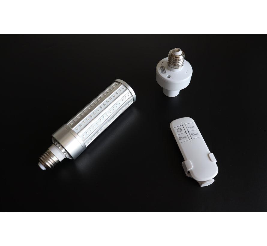 UVC Disinfection lamp 195 leds E27