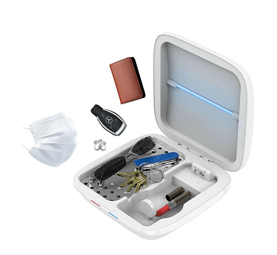 Telefoon sterilisator met draadloze oplader