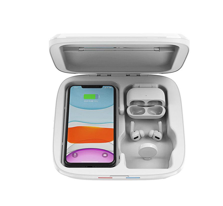 Stérilisateur de téléphone avec chargeur sans fil