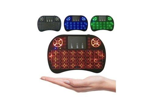 RII I8 Mini Keyboard en Muis met Backlight