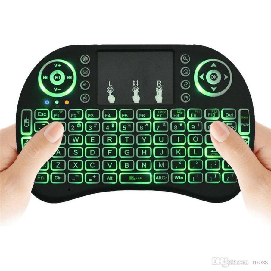 RII I8 Mini Keyboard en Muis met Backlight-2