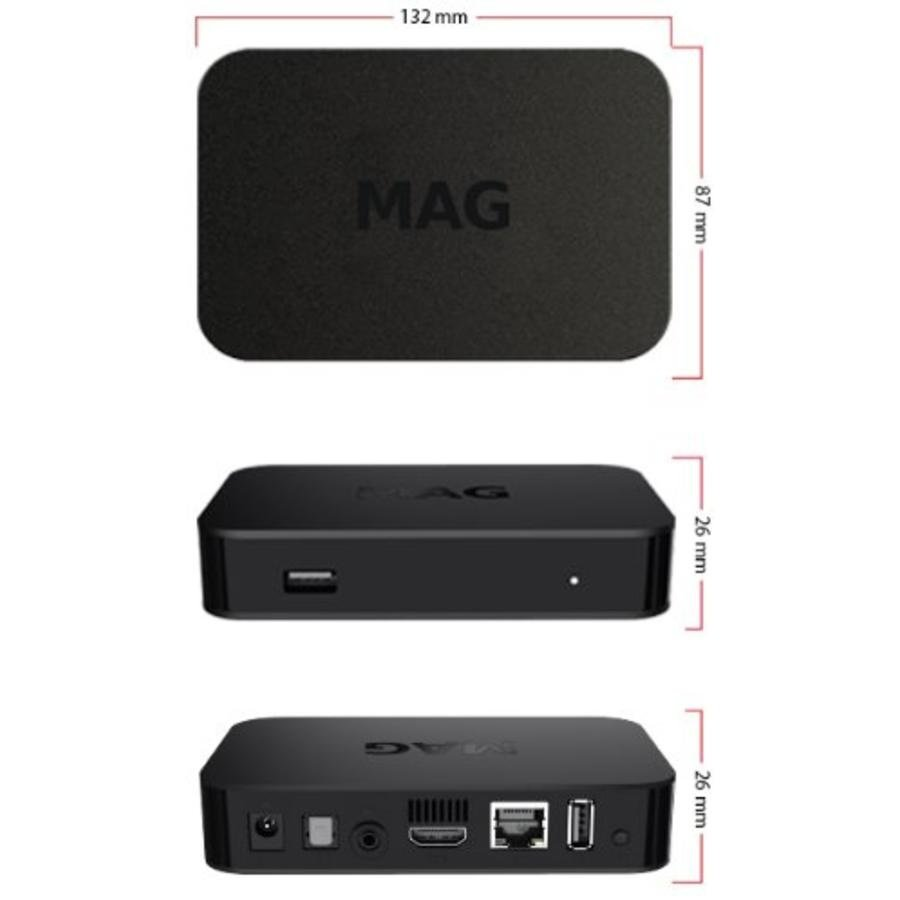 MAG 322/323 IPTV Set-Top box-3