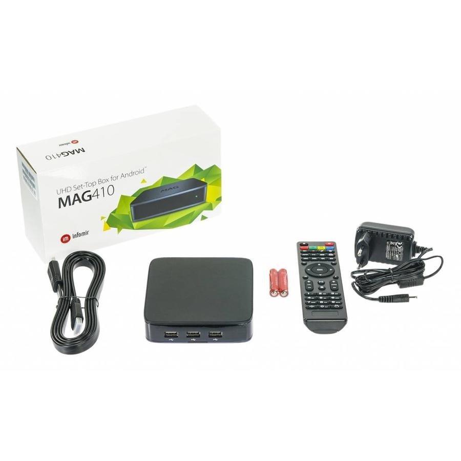 Infomir MAG 410 4K Ultra HD Set-Top Box-2