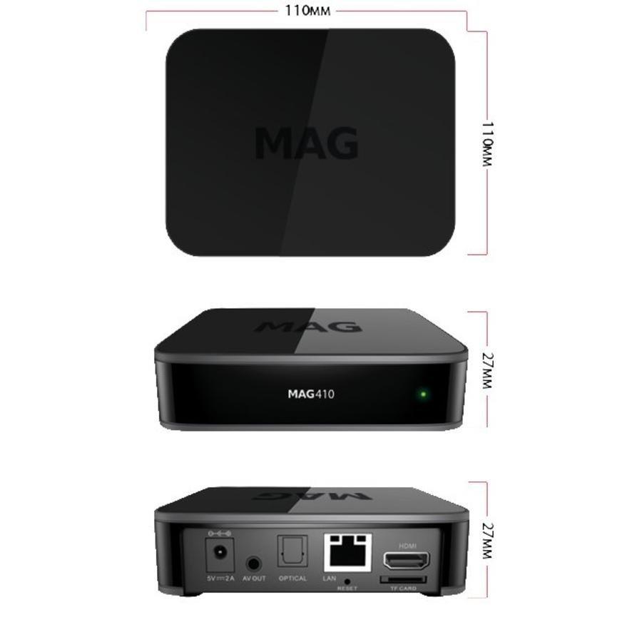 Infomir MAG 410 | 4K Ultra  | TVBox | IPTV | Set-Top Box-3