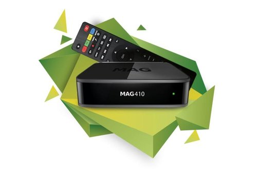 Infomir MAG 410 | 4K Ultra  | TVBox | IPTV | Set-Top Box