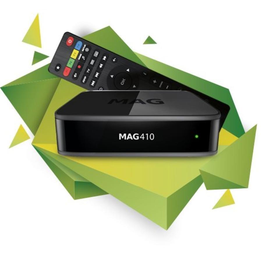 Infomir MAG 410 | 4K Ultra  | TVBox | IPTV | Set-Top Box-1