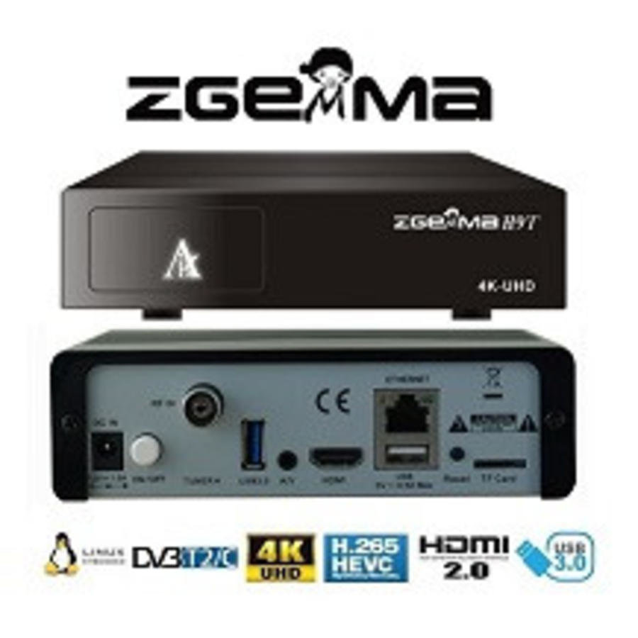 Zgemma H9 T/C | 4K UHD | HEVC | Cable & Terrestrial-3