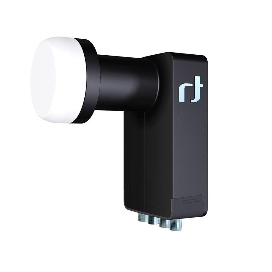 Inverto IDLB-QUDL40-ULTRA-OPP 10.7 - 11.7GHz Zwart low noise block downconverter (LNB)-1