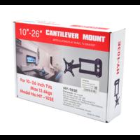"Cantilever HY-103E TV beugel   10"" - 26""   draaibaar & kantelbaar"