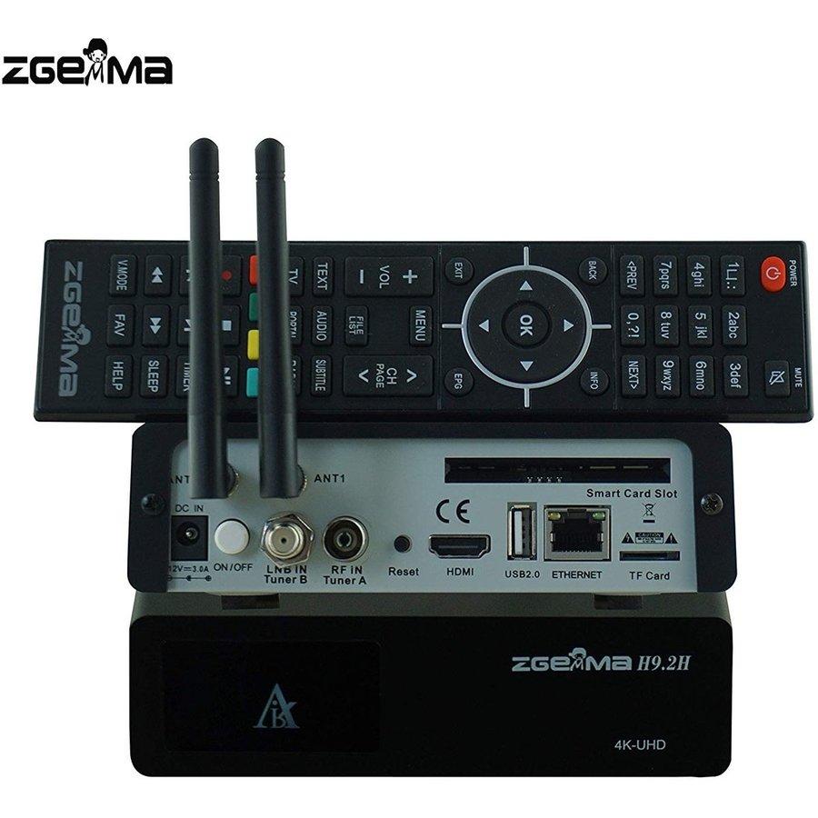 Zgemma H9.2H | 4K UHD | HEVC | Cable & SAT-3