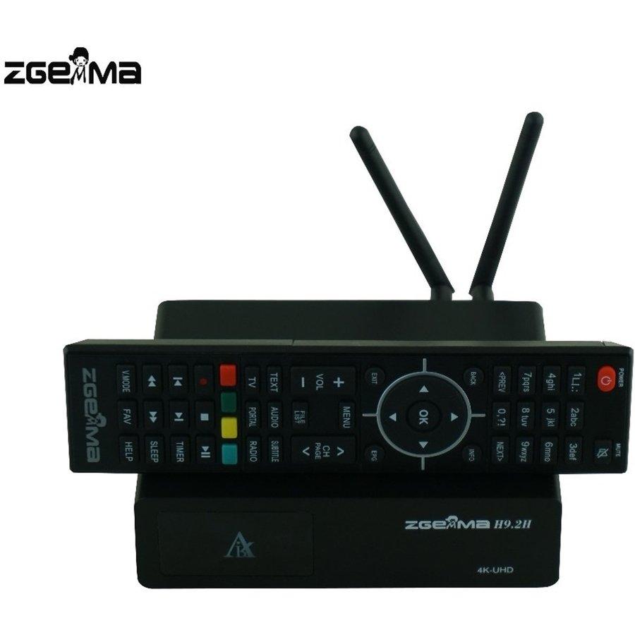 Zgemma H9.2H | 4K UHD | HEVC | Cable & SAT-4