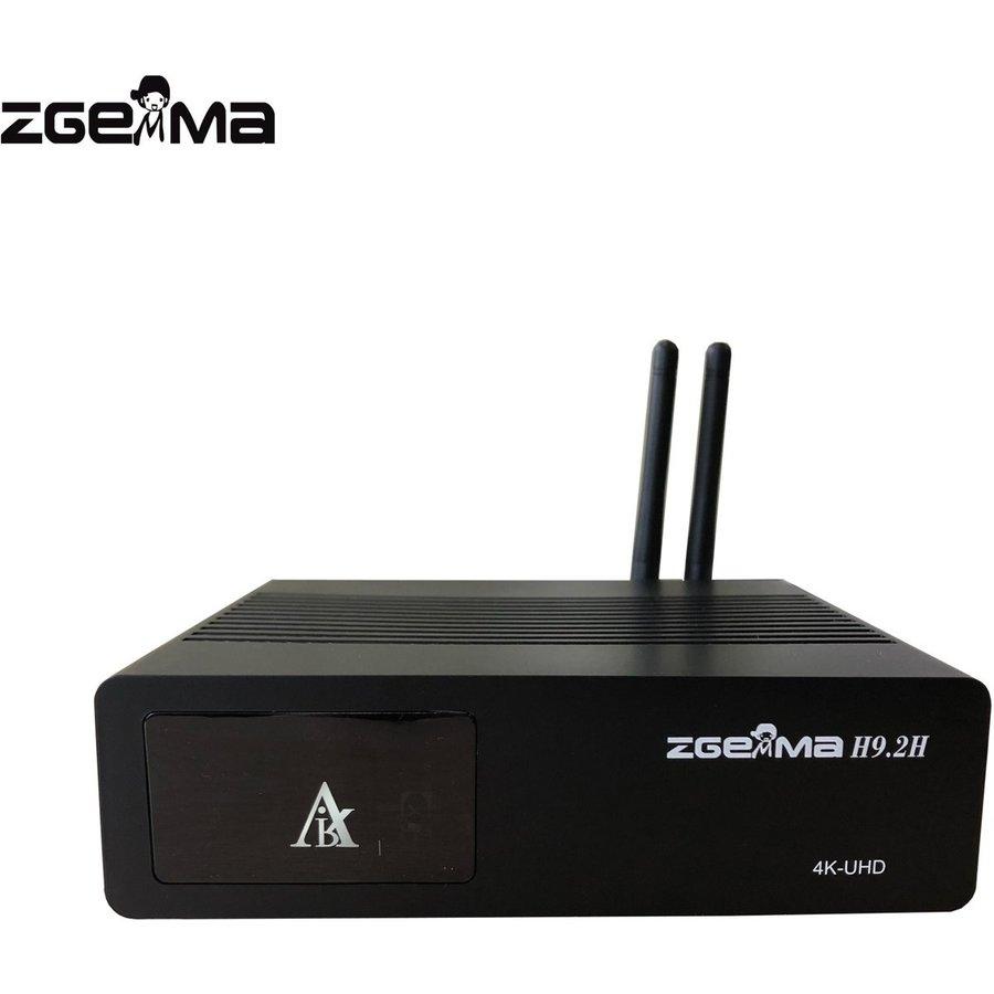 Zgemma H9.2H | 4K UHD | HEVC | Cable & SAT-5