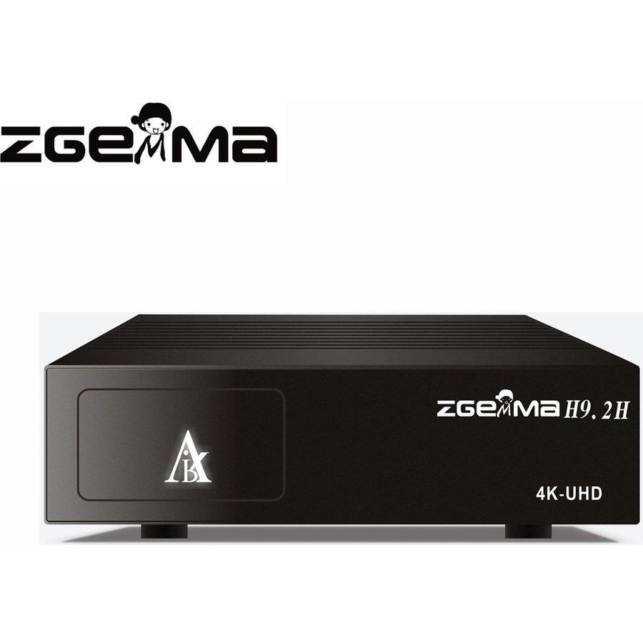Zgemma H9.2H | 4K UHD | HEVC | Cable & SAT-1