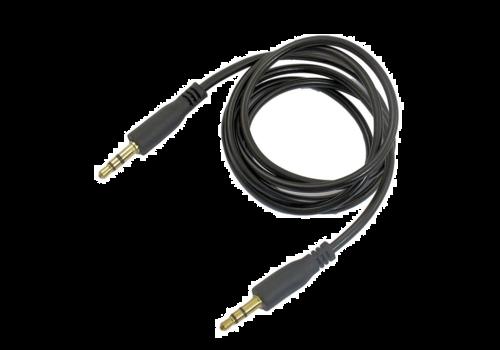 Aux kabel | 1m | 3,5Jack | Zwart
