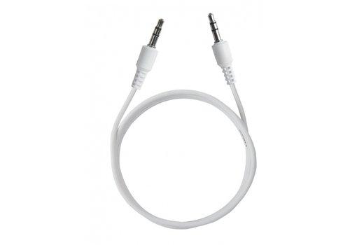 Aux kabel | 1m | 3,5Jack | Wit