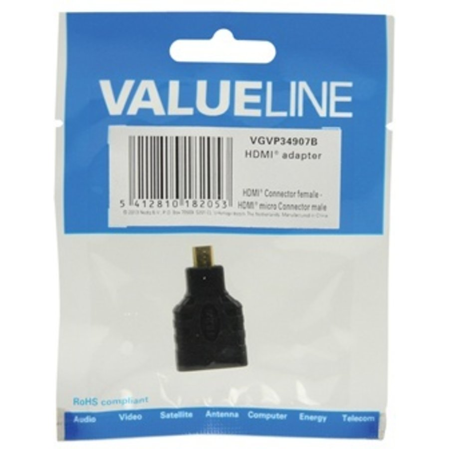 Valueline HDMI-adapter HDMI micro-connector-3