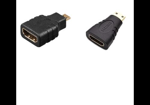 HDMI Mini / HDMI Micro Adapter | Combo