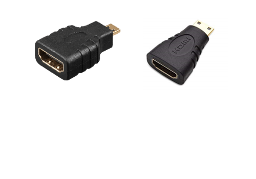 HDMI Mini / HDMI Micro Adapter | Combo