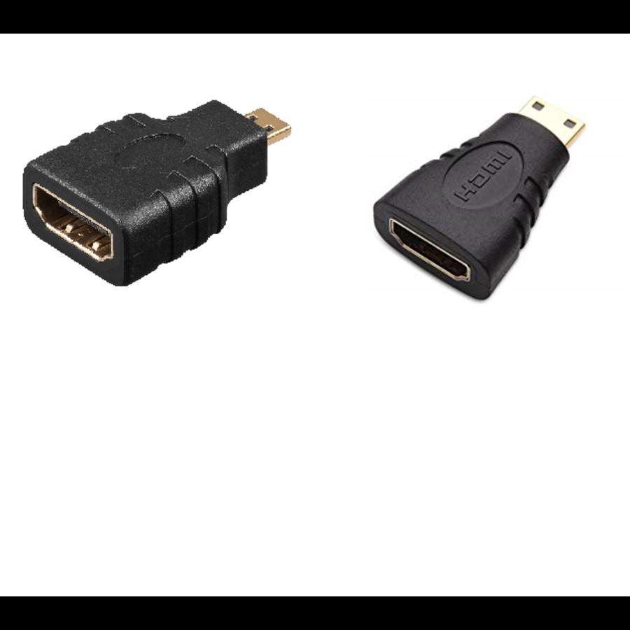 HDMI Mini / HDMI Micro Adapter   Combo-1