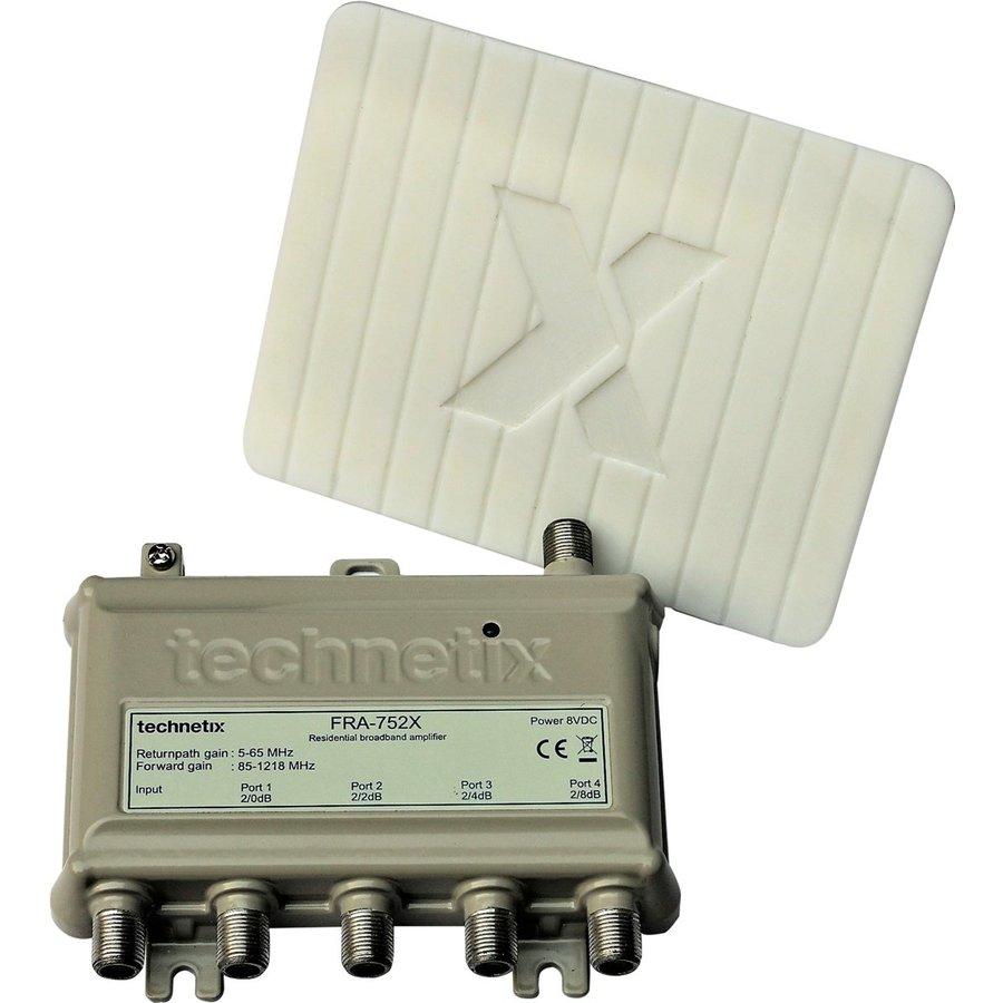antenneversterker FRA -752X 4-weg Ziggo geschikt geschikt 1218Mhz-1