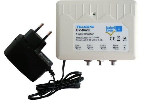 Teleste OV-8420 Kabelkeur Ziggo Geschikt Coax Versterker