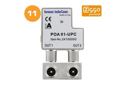 Braun Telecom Ziggo splitter POA 01-UPC