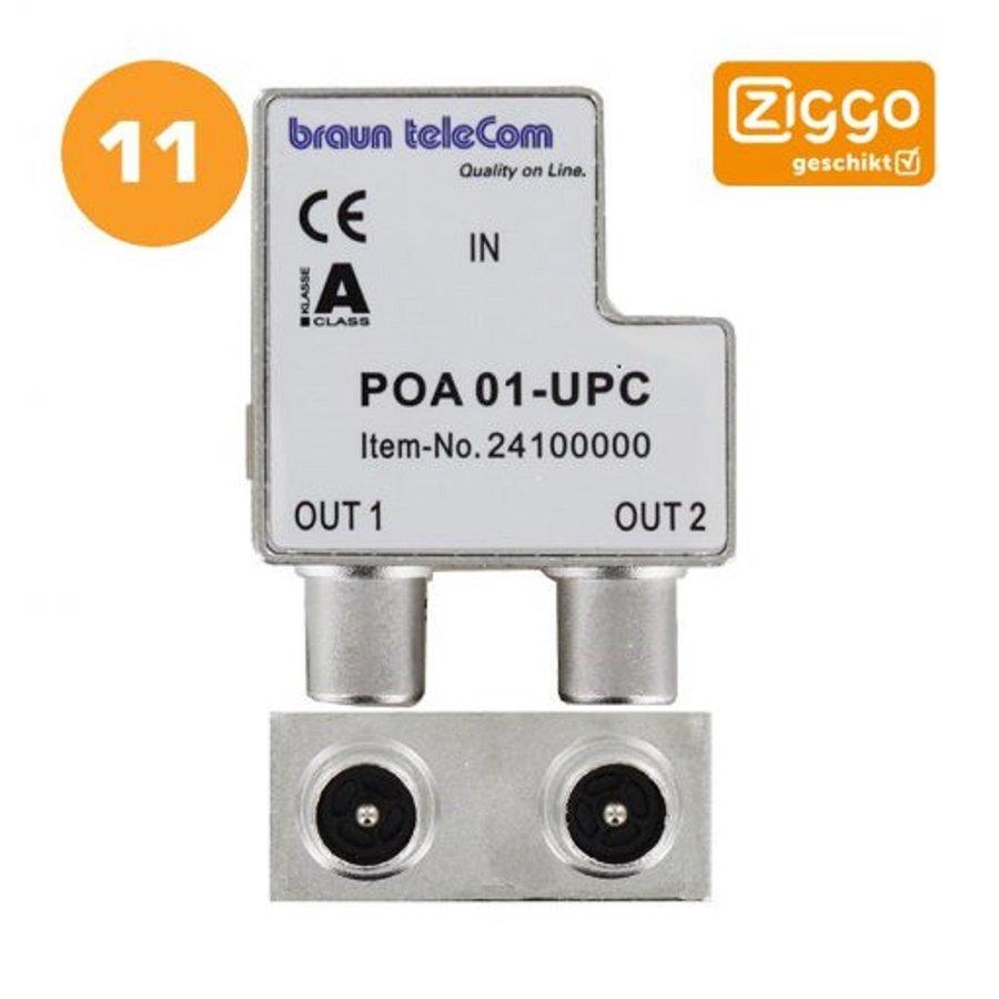 Braun Telecom Ziggo splitter POA 01-UPC-2