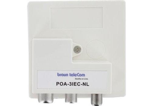 Braun Telecom POA 3 IEC-NL Radio-TV-DATA/Modem (Ziggo gecertificeerd)