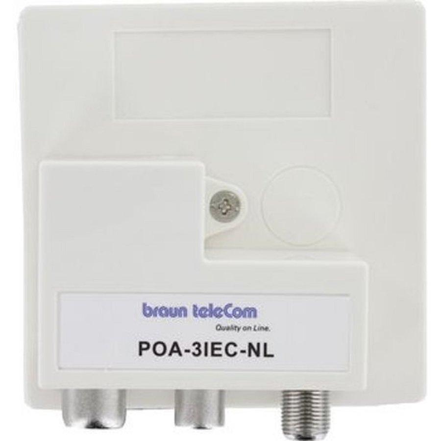 Braun Telecom POA 3 IEC-NL Radio-TV-DATA/Modem (Ziggo gecertificeerd)-1