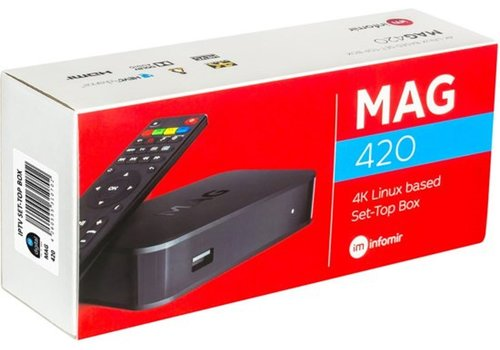 MAG 420 4K UHD Set-Top box