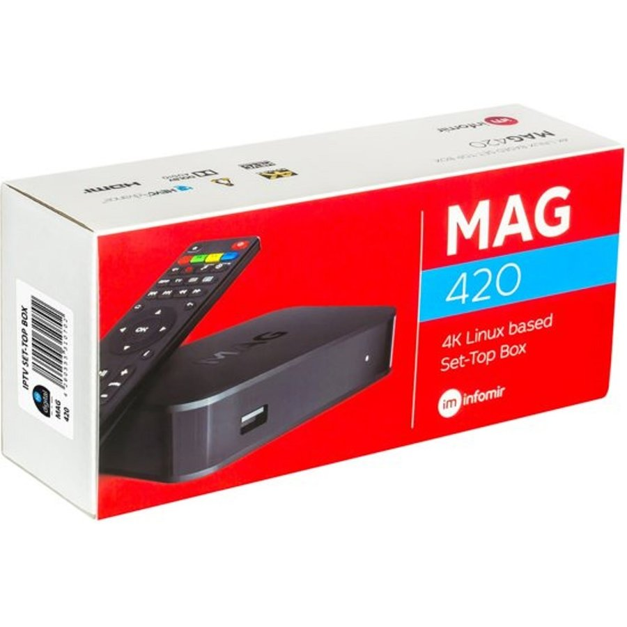 MAG 420 | 4K UHD | IPTV ontvanger-1