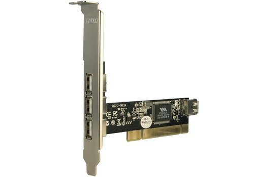 Sweex 3+1 Port USB Card PCI US102