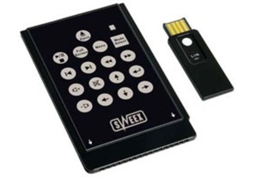 Sweex Wireless multimedia remote controle MM001