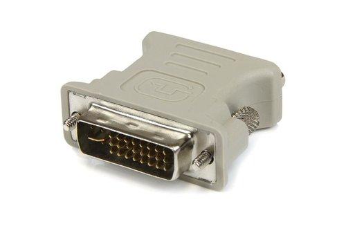 DVI-I - VGA adapter zwart