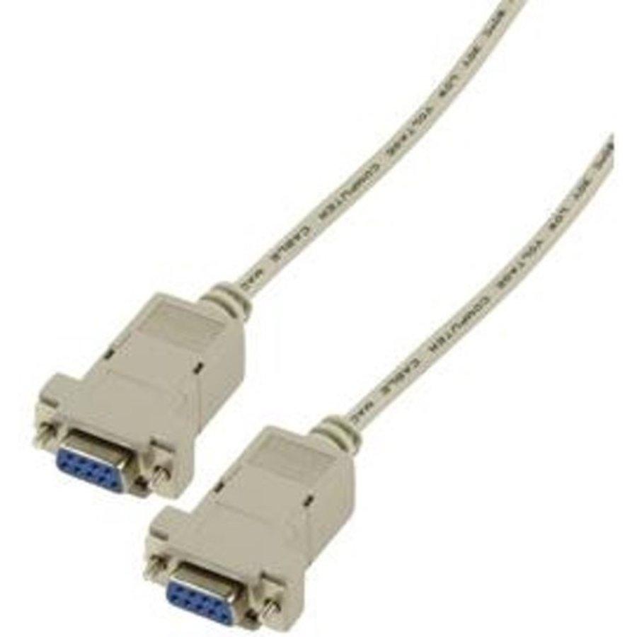 Valueline  Nullmodem Kabel Grijs 1.8 meter-1