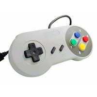 thumb-Super Nintendo controller met USB aansluiting| 2 stuks-3