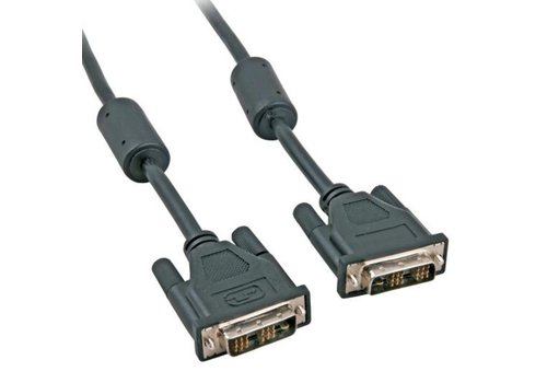 Zazitec DVI-D kabel | 1.8 meter | Single Link | (18+1 Polig)