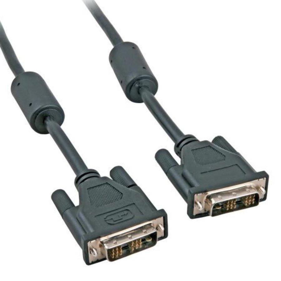 DVI-D kabel | 1.8 meter | Single Link | (18+1 Polig)-1