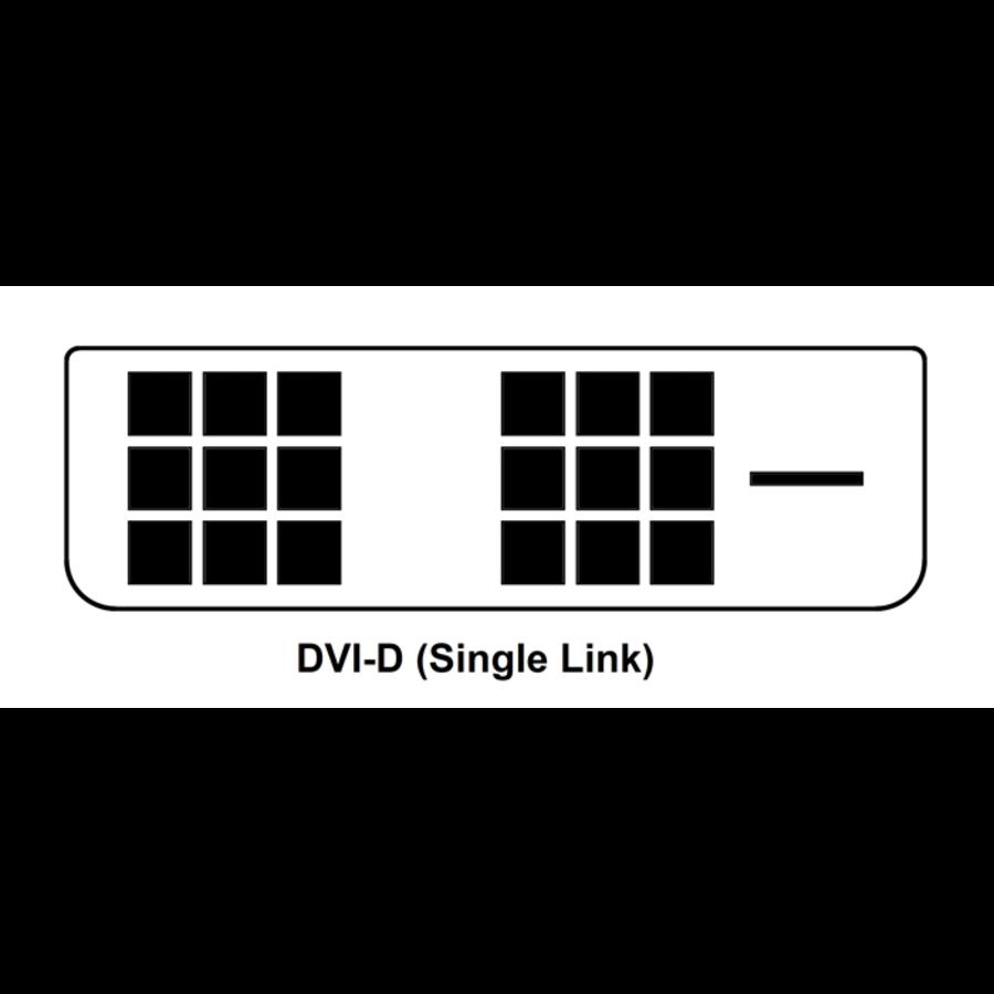 Zazitec DVI-D kabel | 1.8 meter | Single Link | (18+1 Polig)-2