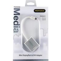 thumb-Profigold PROM251 video kabel adapter 0,2 m mini DisplayPort DVI-D Wit-5