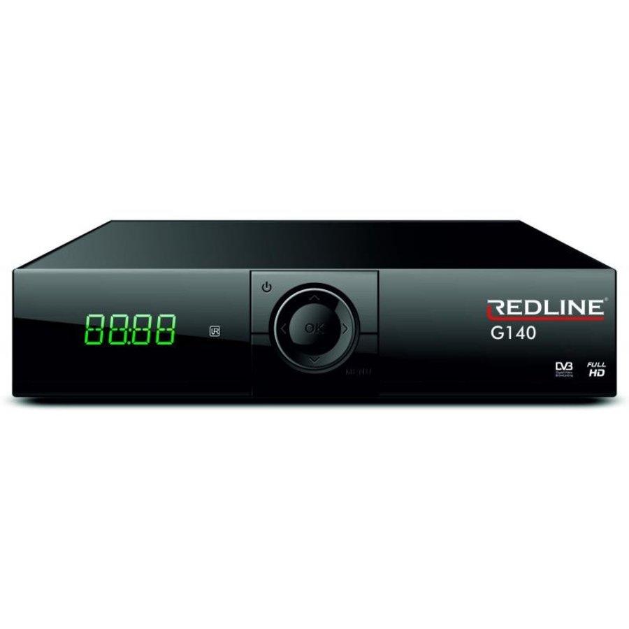 Redline G140 HD FTA Satelliet ontvanger-1