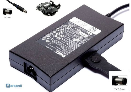 Dell oplader - 130W  - 7.4 x 5.0mm