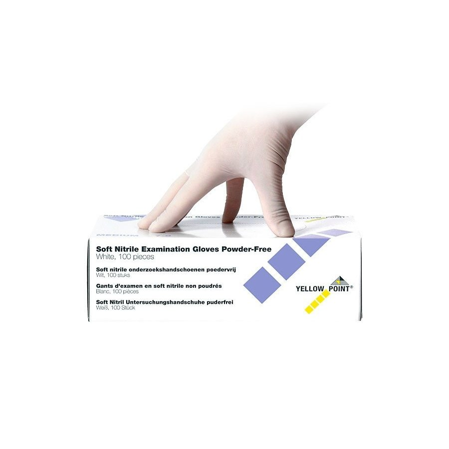 Medische handschoenen Soft Nitrile poedervrij - S-1