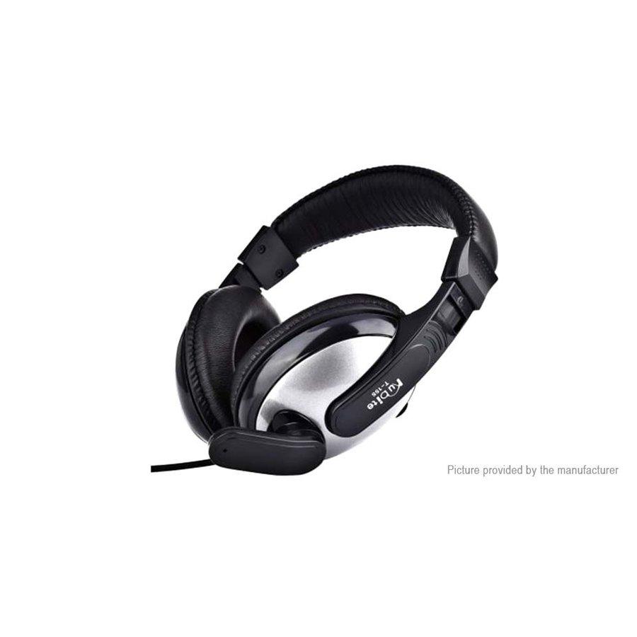 Kubite T-155 Headset met Microfoon voor Computer & Laptop - zwart/grijs-2